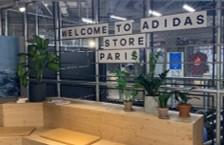 ADIDAS Paris Flagship vu par Digital pour Vous